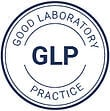 GLP's stamp that explain how QualityKick is a QMS that complies with good laboratory practice.