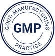 GMP's stamp that explain how QualityKick is a QMS that complies with good manufacturing practice.